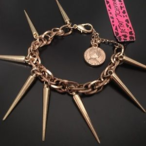 Betsey Johnson Spike Bracelet